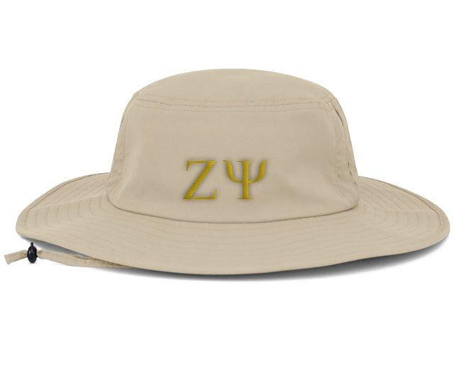 Zeta Psi Greek Manta Ray Boonie Hat