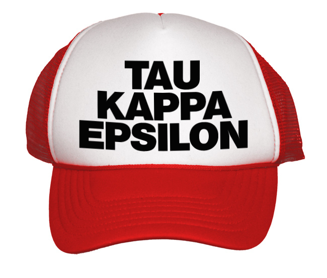 Mega Greek Trucker Hat