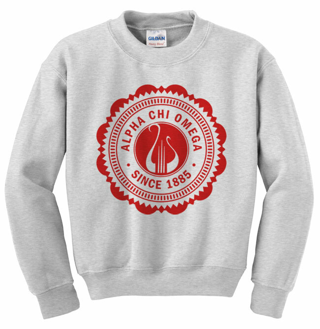 Sorority Seal Crewneck Sweatshirt