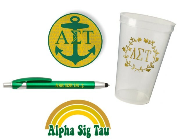 Alpha Sigma Tau Sorority For Starters Collection $9.99