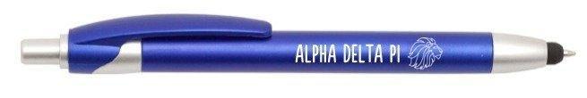 Alpha Delta Pi Retractable Stylus Pen