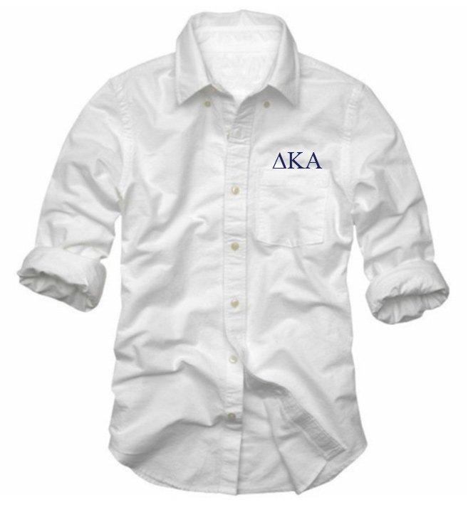Delta Kappa Alpha Long Sleeve Oxford