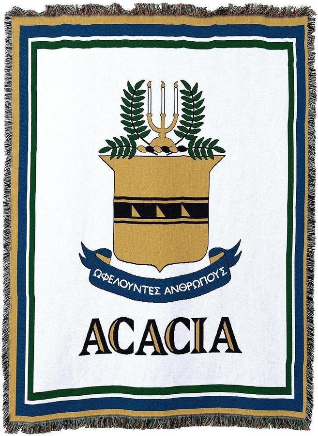 Acacia Afghan Blanket Throw