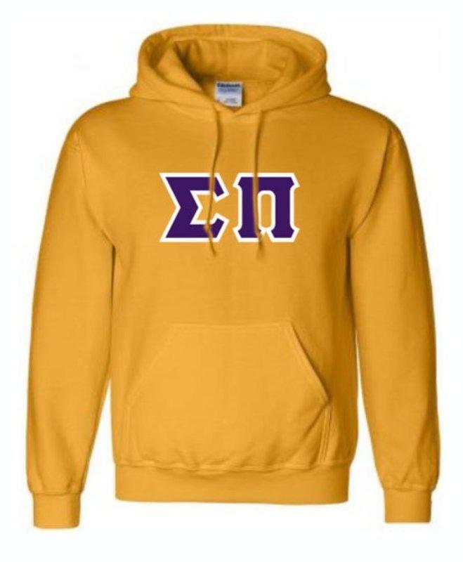 Sigma Pi Lettered Sweatshirts