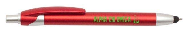Alpha Chi Omega Retractable Stylus Pen