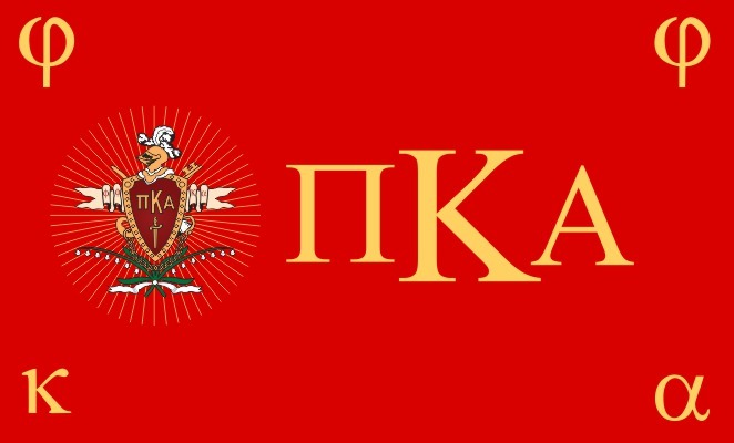 Pi Kappa Alpha Flag Decal Sticker
