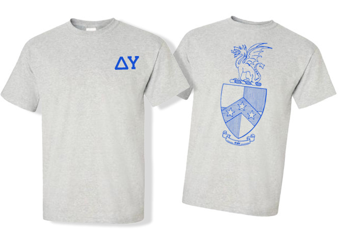 Beta Theta Pi World Famous Crest - Shield Tee
