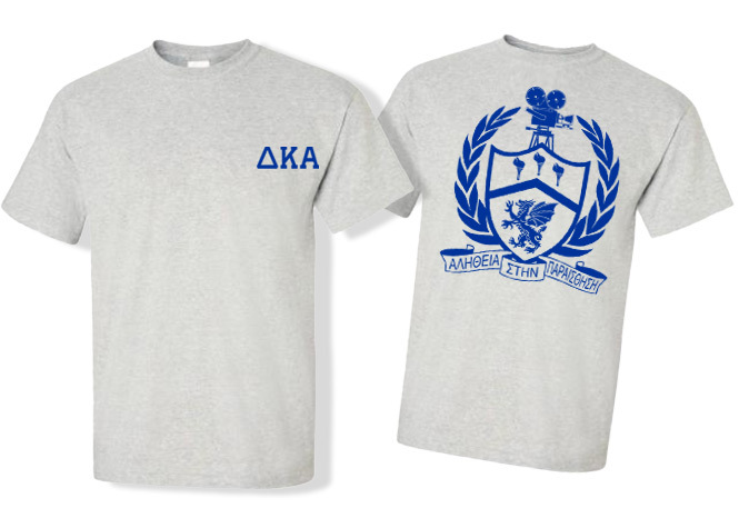 Delta Kappa Alpha World Famous Crest - Shield Tee