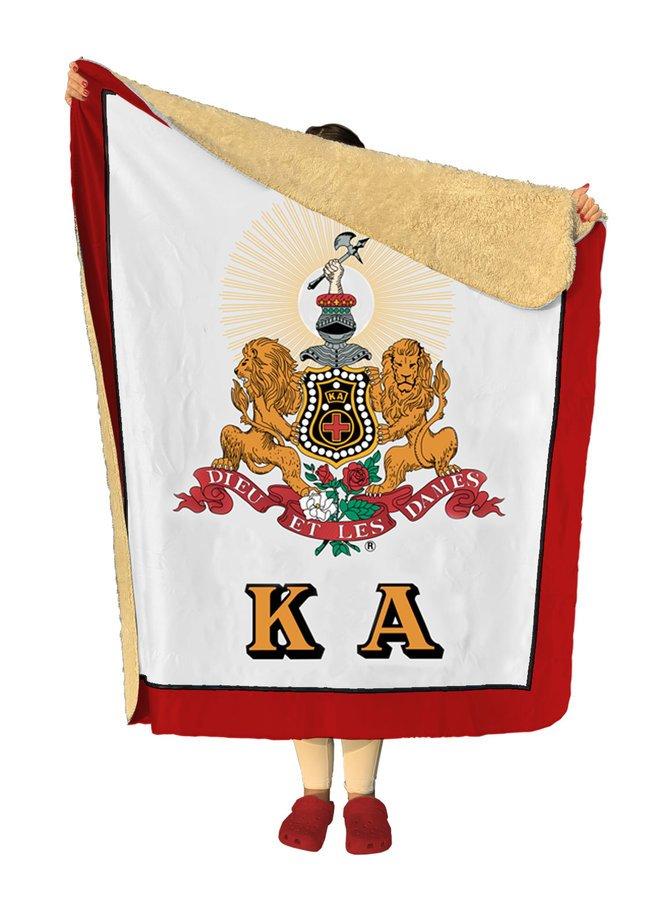 Kappa Alpha Sherpa Lap Blanket