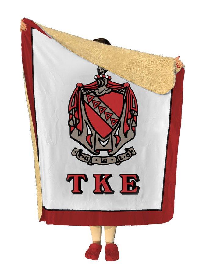 Tau Kappa Epsilon Sherpa Lap Blanket