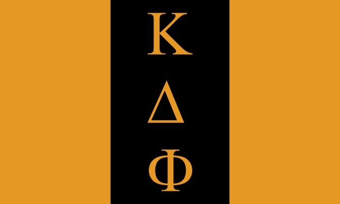 Kappa Delta Phi Flag Decal Sticker