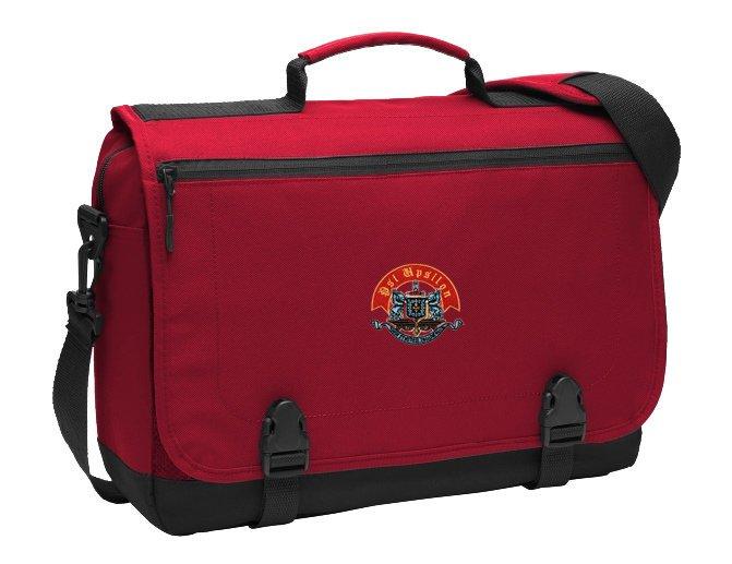 DISCOUNT-Psi Upsilon Emblem Briefcase