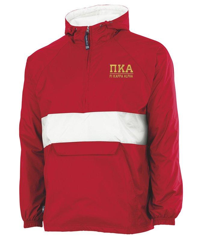 Pi Kappa Alpha Greek Letter Anoraks