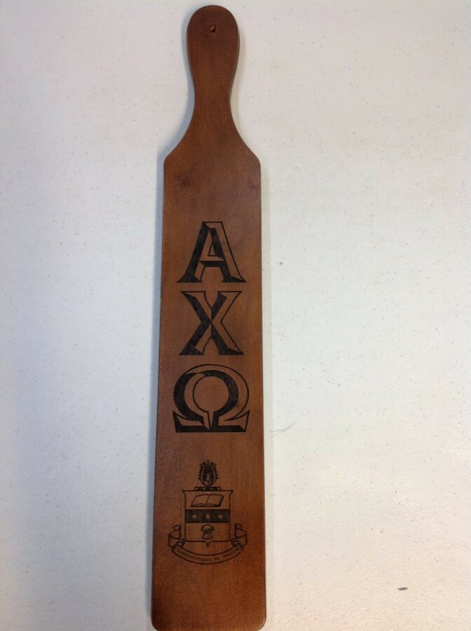 Super Savings - Alpha Chi Omega Paddle