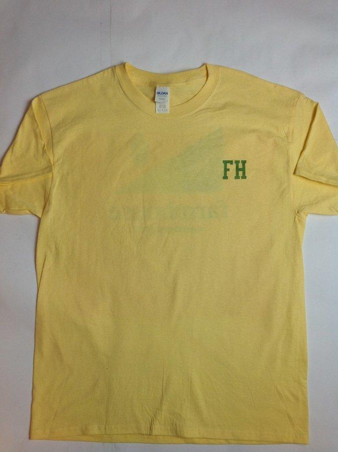Super Savings - FarmHouse Fraternity Flag T-Shirt - YELLOW