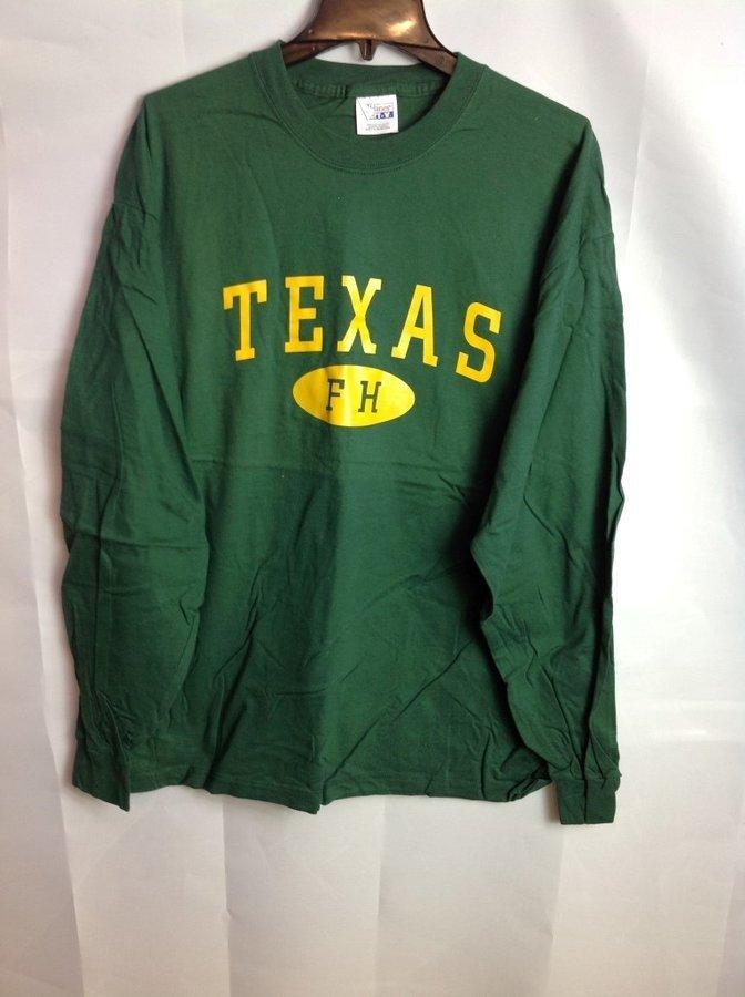 Super Savings - Farmhouse Texas Long Sleeve T-Shirt - Green