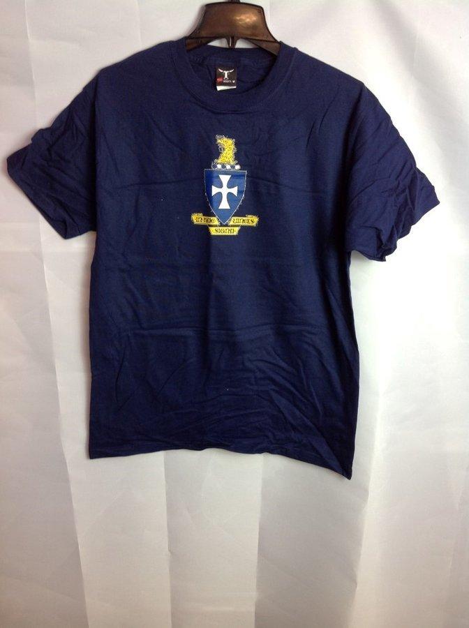 Super Savings - Sigma Chi Crest T-Shirt - Navy
