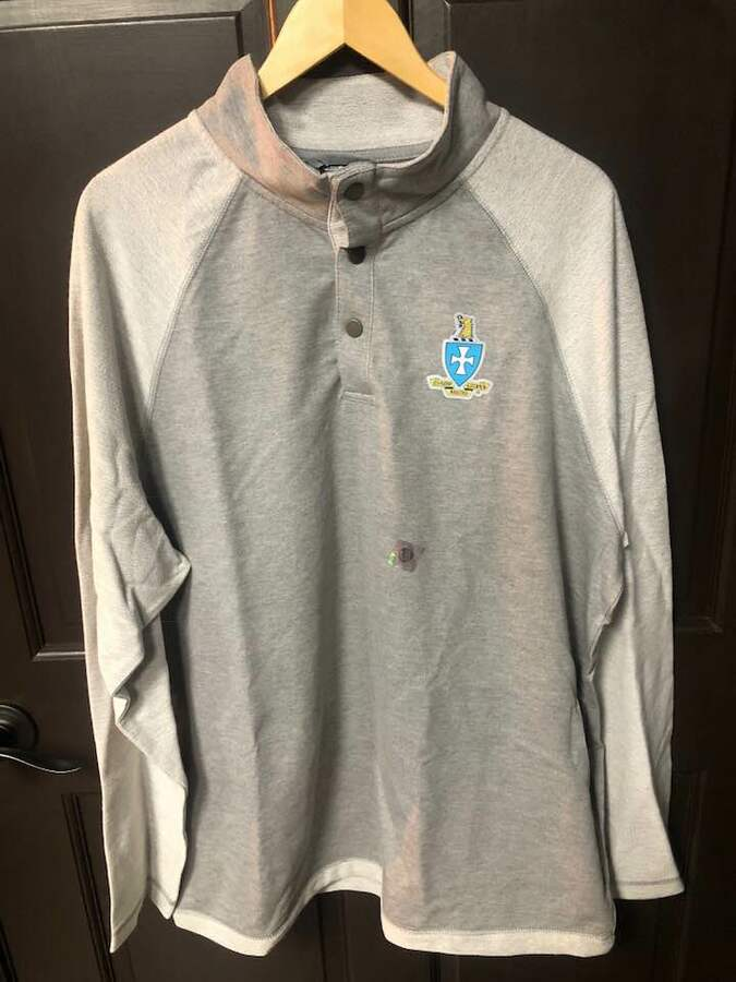 New Super Savings - Sigma Chi Falmouth Pullover - GREY