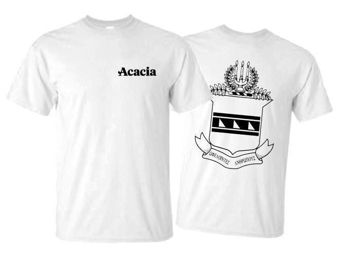 ACACIA World Famous Crest - Shield Tee