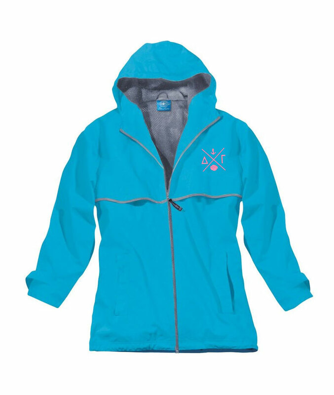 Delta Gamma New Englander Rain Jacket