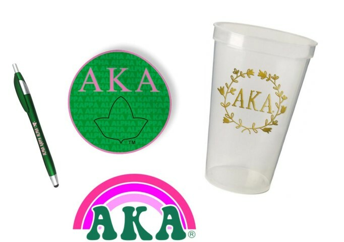 Alpha Kappa Alpha Sorority For Starters Collection $9.99