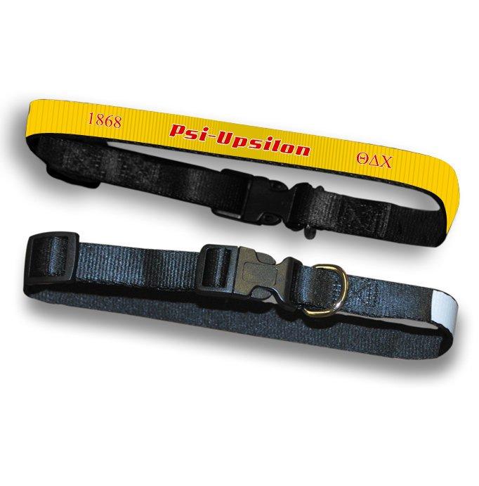 Psi Upsilon Pet Collar