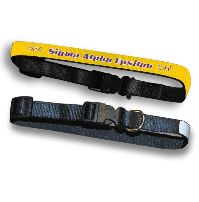 Sigma Alpha Epsilon Pet Collar