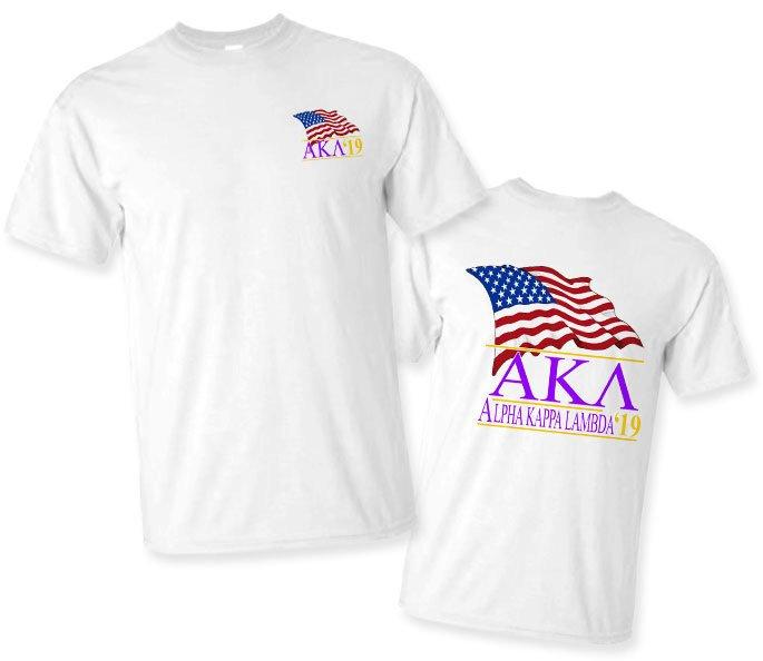Alpha Kappa Lambda Patriot Limited Edition Tee- $15!