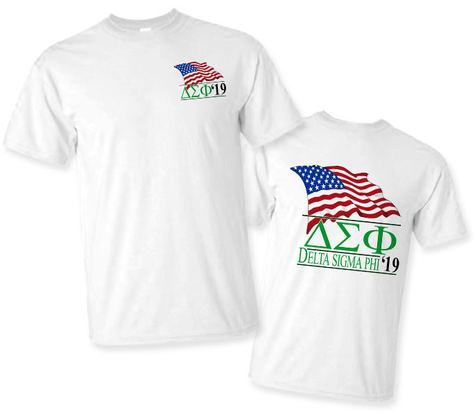 Delta Sigma Phi Patriot Limited Edition Tee- $15!