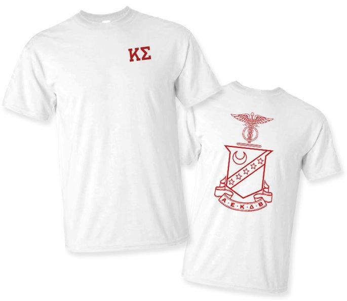 Kappa Sigma World Famous Crest - Shield Tee