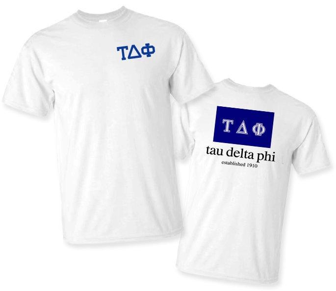 Tau Delta Phi Flag T-Shirt