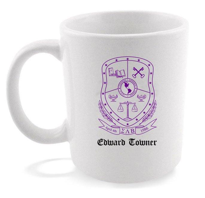 Sigma Lambda Beta Crest - Shield Coffee Mug