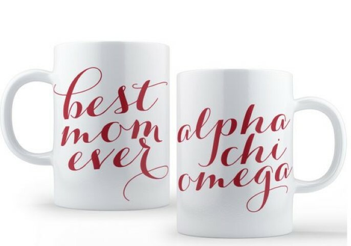 Alpha Chi Omega Best Mom Ever Coffee Mug