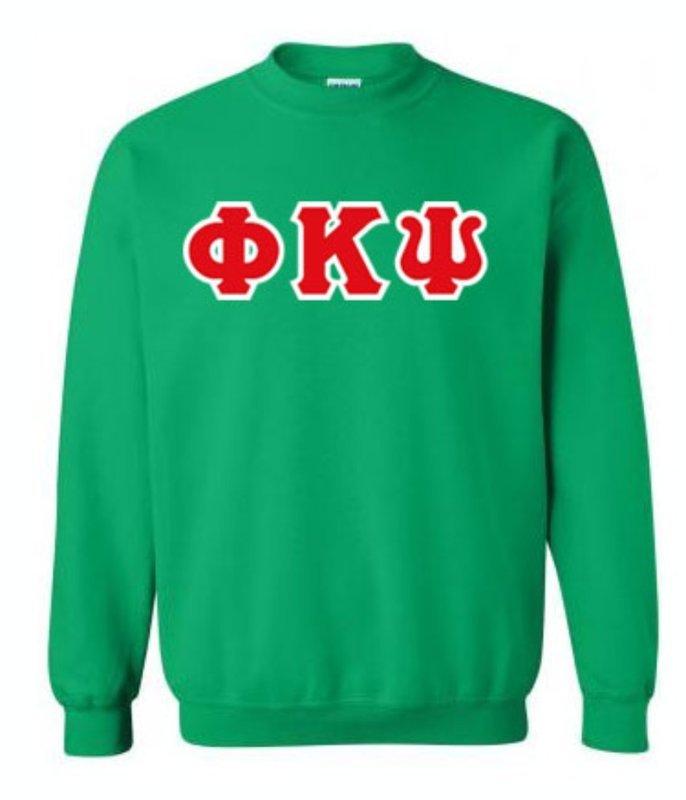 Phi Kappa Psi Lettered Crewneck Sweatshirt