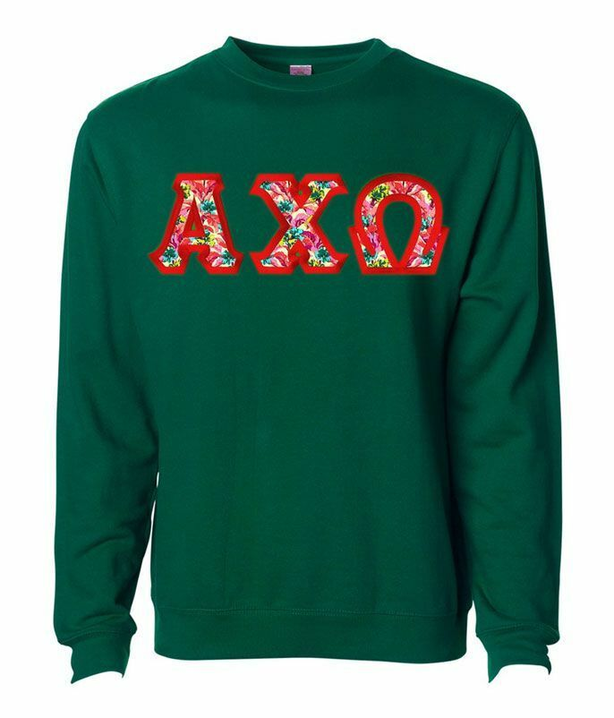 $25 Alpha Chi Omega Custom Twill Sweatshirt
