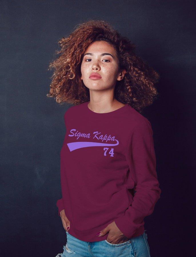 Sigma Kappa Tail Sweatshirts
