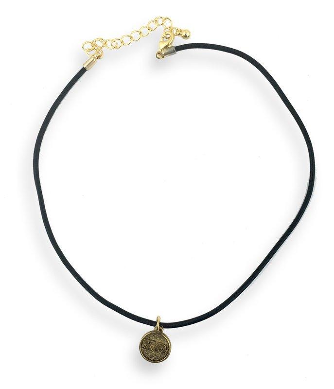 Sorority Choker Necklace Greek Letter Necklace
