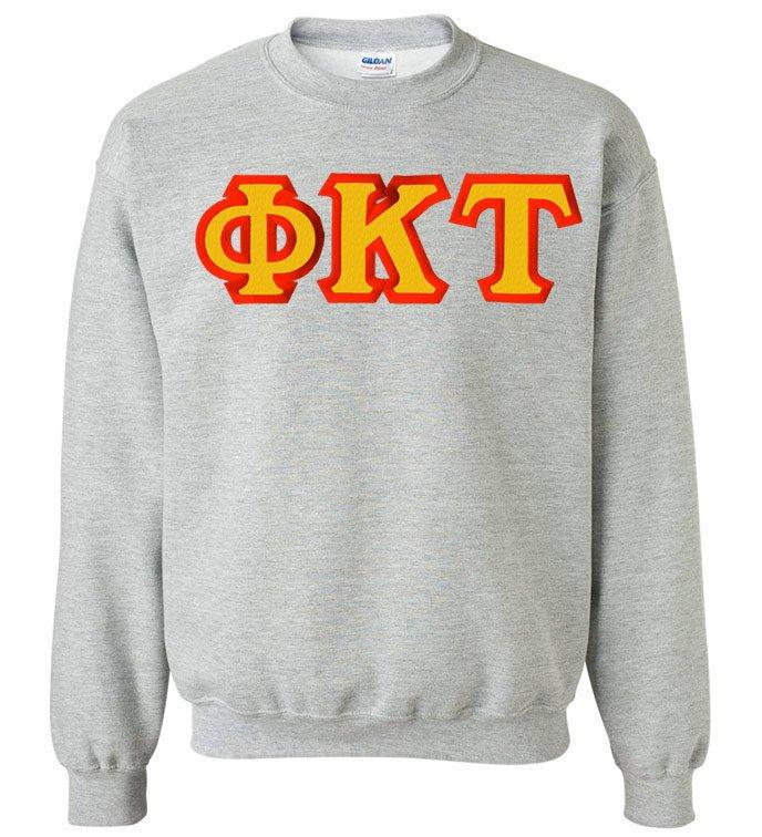 Phi Kappa Tau Custom Twill Crewneck Sweatshirt