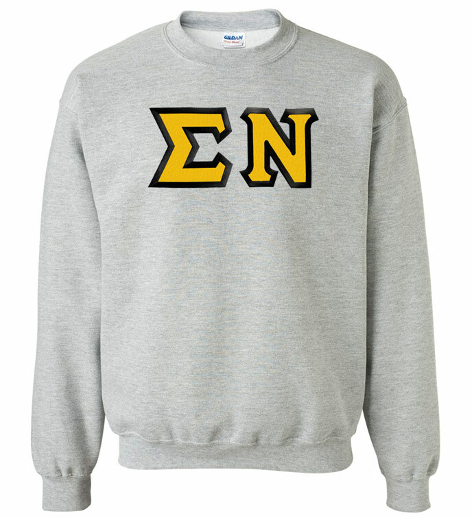 Sigma Nu Custom Twill Crewneck Sweatshirt