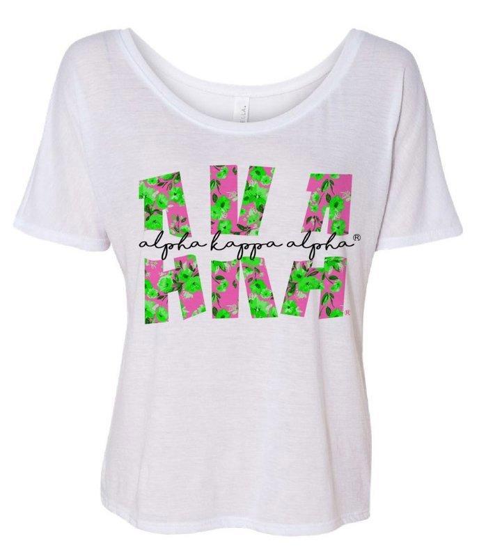 Alpha Kappa Alpha Slouchy T-Shirt