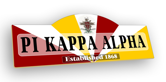 Pi Kappa Alpha Display Sign