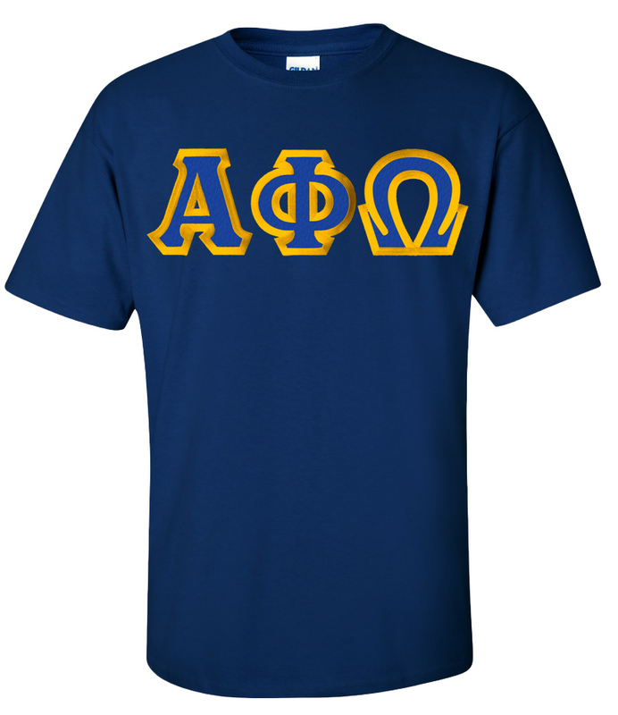 Alpha Phi Omega Custom Twill Short Sleeve T-Shirt