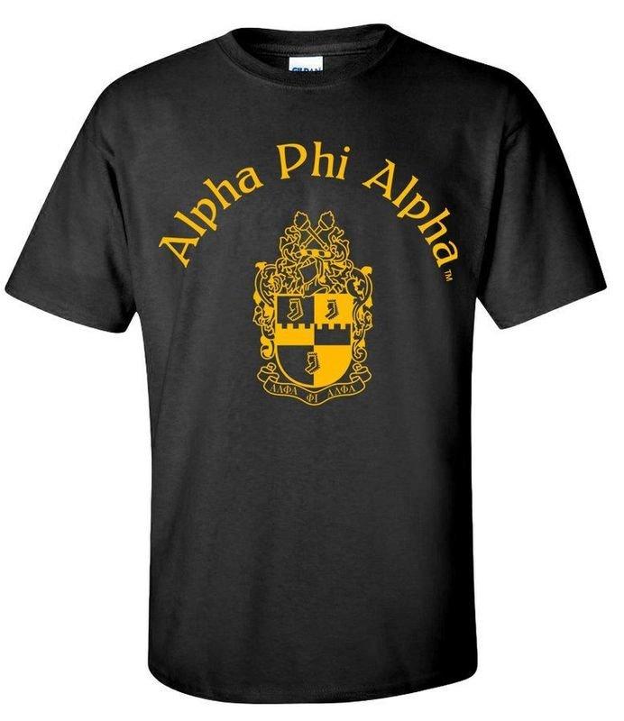 Alpha Phi Alpha World Famous Crest - Shield Tee