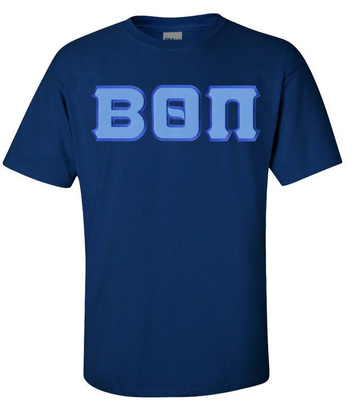 DISCOUNT Beta Theta Pi Lettered T-shirt