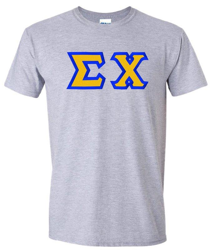 Sigma Chi Custom Twill Short Sleeve T-shirts