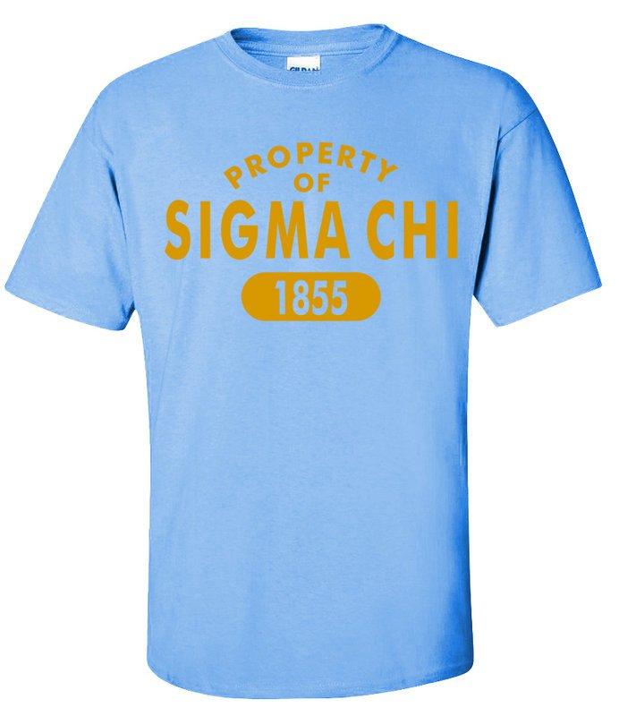Sigma Chi Est. Shirts