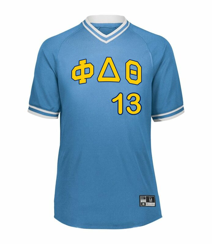 Fraternity Retro V-Neck Baseball Jersey