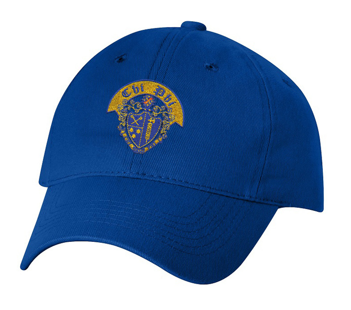 DISCOUNT-Chi Phi Crest - Shield Hat