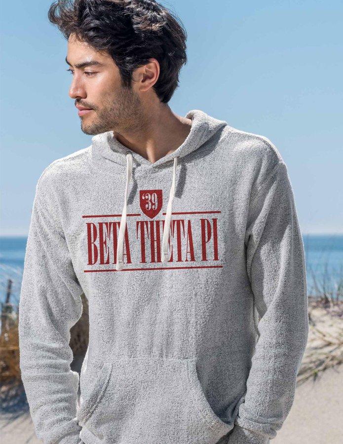 Beta Theta Pi Lucas Loop Fleece Hood