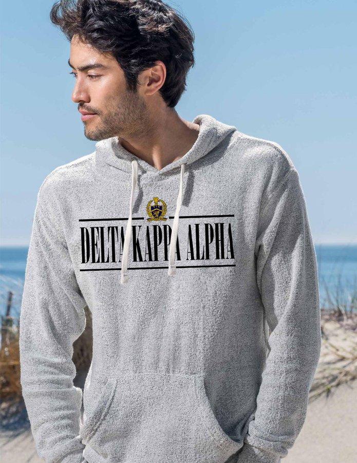 Delta Kappa Alpha Line Crest Lucas Loop Fleece Hood
